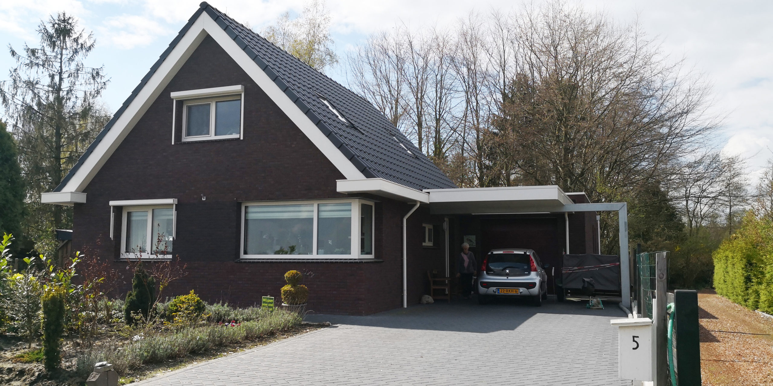 Nieuw passiefhuis Familie Louwes in Emmen