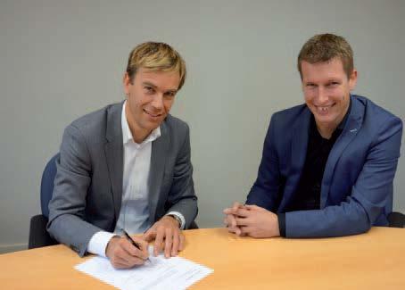 ondertekening samenwerkingovereenkomst
