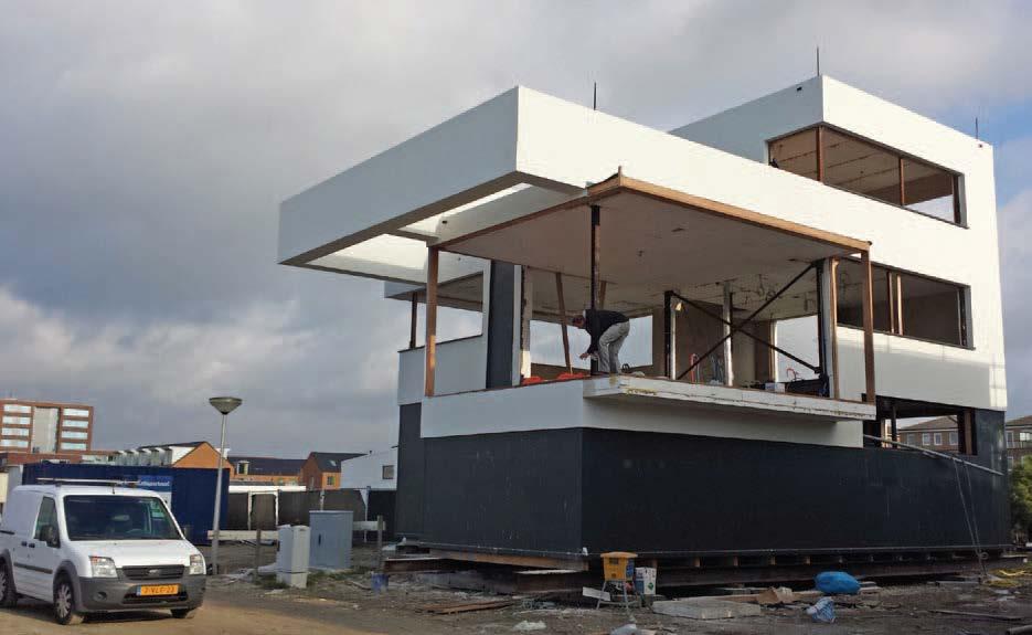 passieve waterwoning constructie