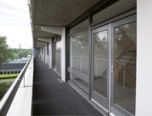 flat balkon nul op meter