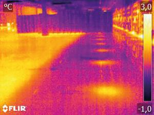 vloer foto thermogram